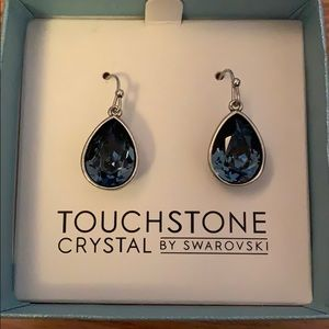 Touchstone Crystal by Swarovski Wrapped Earrings